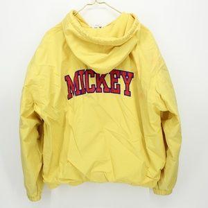 Vintage Disney MICKEY Yellow Jacket